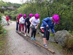 Corporate teambuilding business challenge