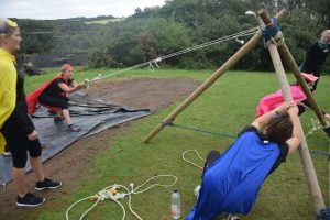 Corporate teambuilding event cornwall
